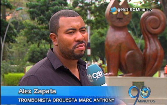 Este caleño, único colombiano en la orquesta de Marc Anthony