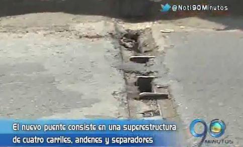 Preparan contratos para estudios y diseños del nuevo puente de Juanchito