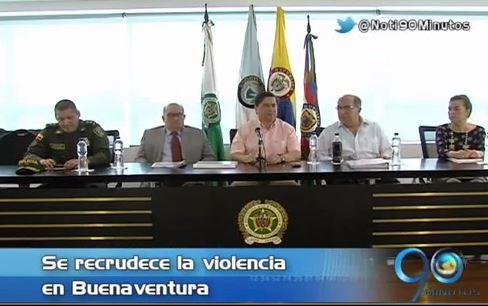 Ministro del Interior presidió consejo de seguridad en Cali