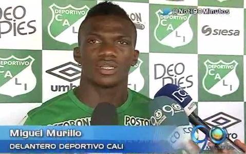 Miguel Murillo, la carta de gol del Deportivo Cali en el 2015