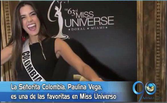 Colombia, favorita del presidente de Miss universo
