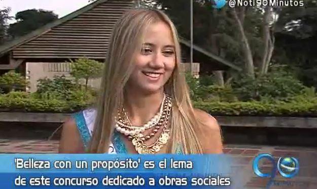 María Angélica Giraldo es la nueva Miss Mundo Cali