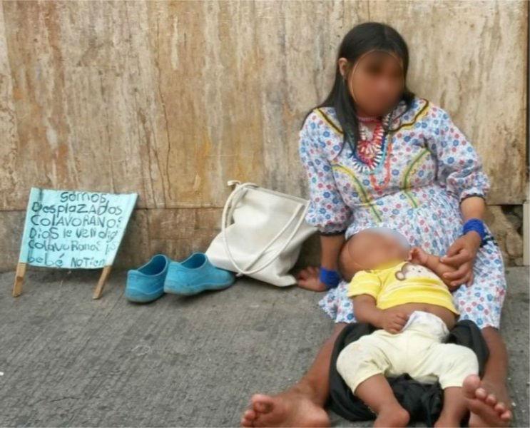 Autoridades investigan muerte de bebé Embera Katío