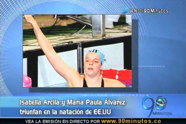 Las nadadoras vallunas Arcila y Álvarez triunfaron en EE.UU.