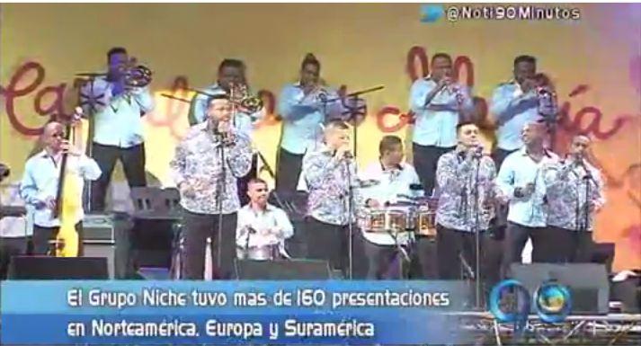 """Grupo Niche, """"sonando duro"""" en varios países del mundo"""