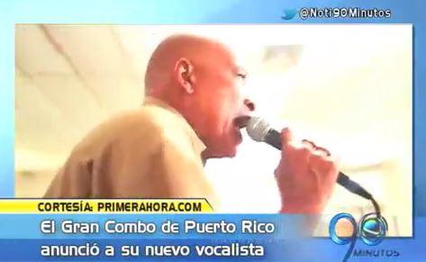 El Gran Combo de Puerto Rico presenta a su nuevo vocalista