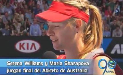 La final femenina del Australian Open en el Panorama Deportivo