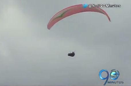 Roldanillo voló con el Mundial de Parapente el fin de semana