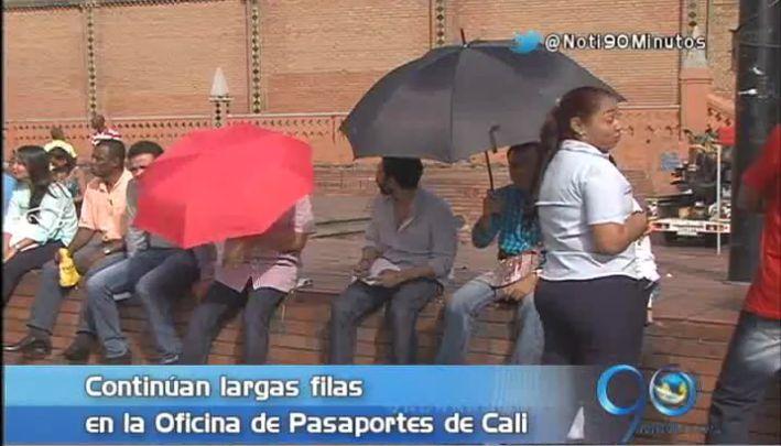 El próximo sábado hay entrega especial de pasaportes en Cali