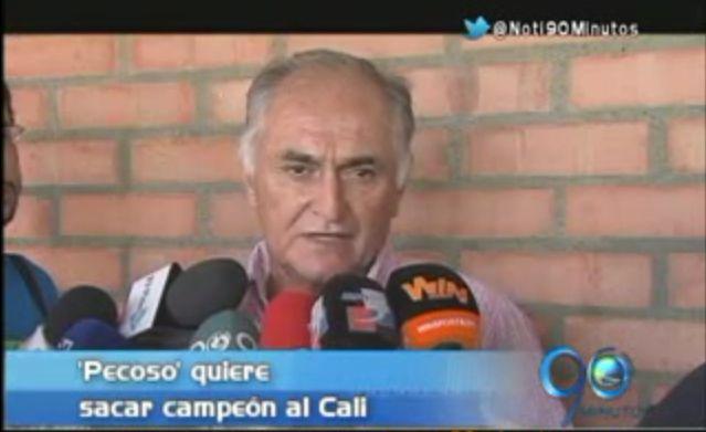 """""""Este es un equipo que tiene la obligación de ganar"""": 'Pecoso' Castro"""