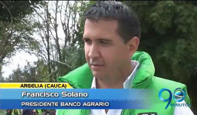 Presidente del Banco Agrario entregará viviendas rurales en Argelia, Cauca