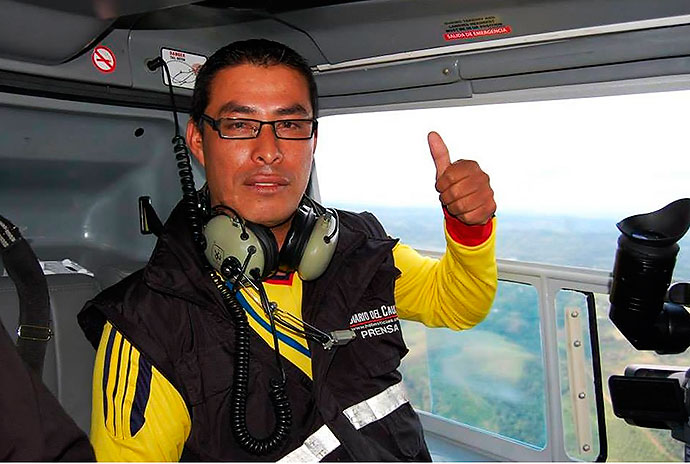 Apareció reportero gráfico a quien habían secuestrado en el Cauca
