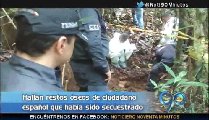 Hallan restos óseos de ciudadano español secuestrado en 2007