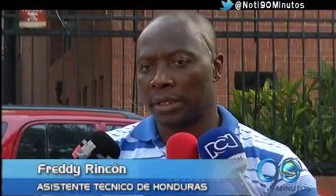 Freddy Rincón habla sobre su llegada al cuerpo técnico de Honduras