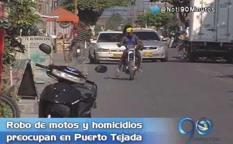 La inseguridad, uno de las crisis en Puerto Tejada