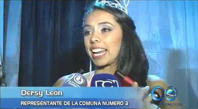 Fue elegida la señorita Popayán, durante Carnaval de Pubenza