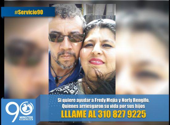 Buscamos ayudas para pareja que resultó quemada por salvar a sus hijos