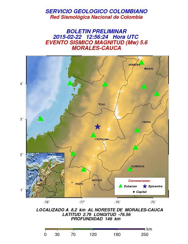 Último temblor afectó a 30 casas en Morales, Cauca