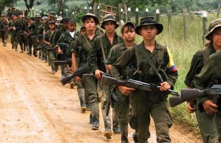 Menores de 17 años no serán reclutados por las FARC
