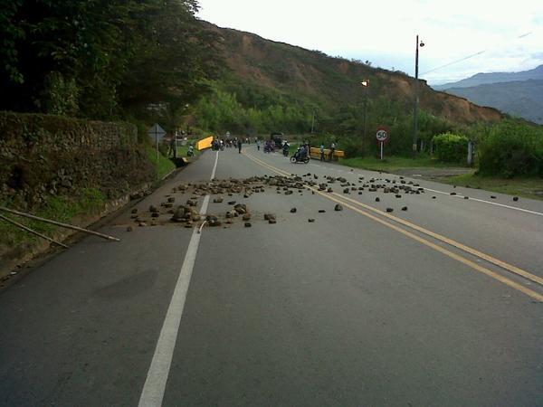Desbloquean vía Panamericana cerca a Mondomo