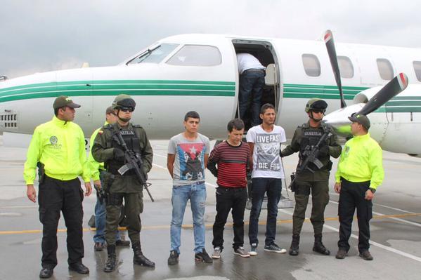 """""""Porrón"""" fue trasladado  a  Bogotá y será recluido en La Picota"""