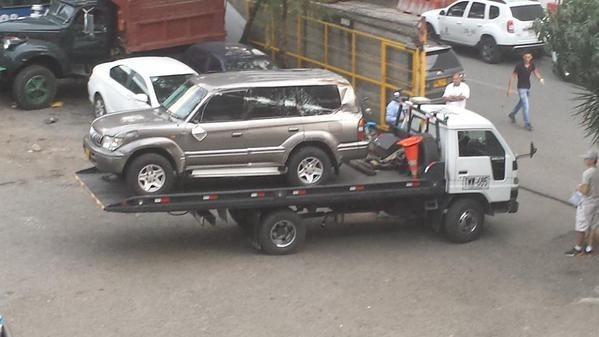 Exfiscal Mario Iguarán tuvo accidente de tránsito en Rionegro