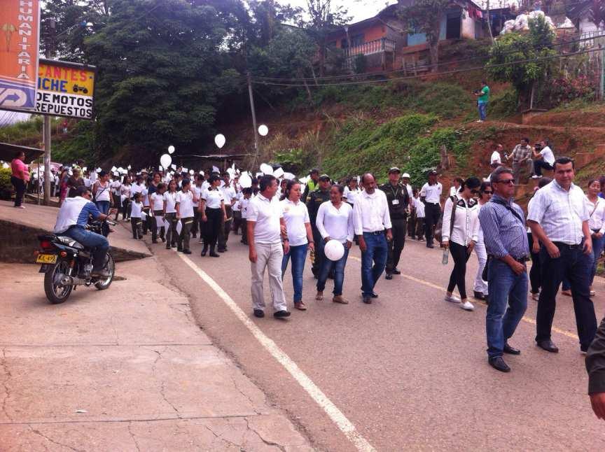 Cientos de personas marcharon por el asesinato de Juan David