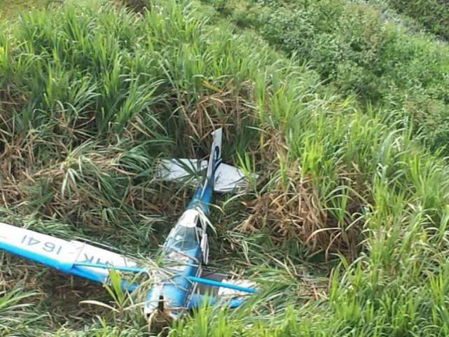 Una avioneta se accidentó en la vereda El Cabuyal en el Valle