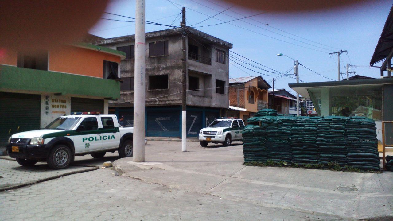 Tres Policías heridos en atentado con granadas en Tumaco, Nariño