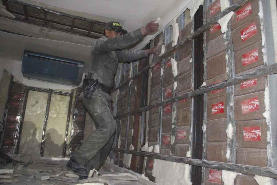 La Policía incautó 289 kilos de clorhidrato de coca en Jamundí