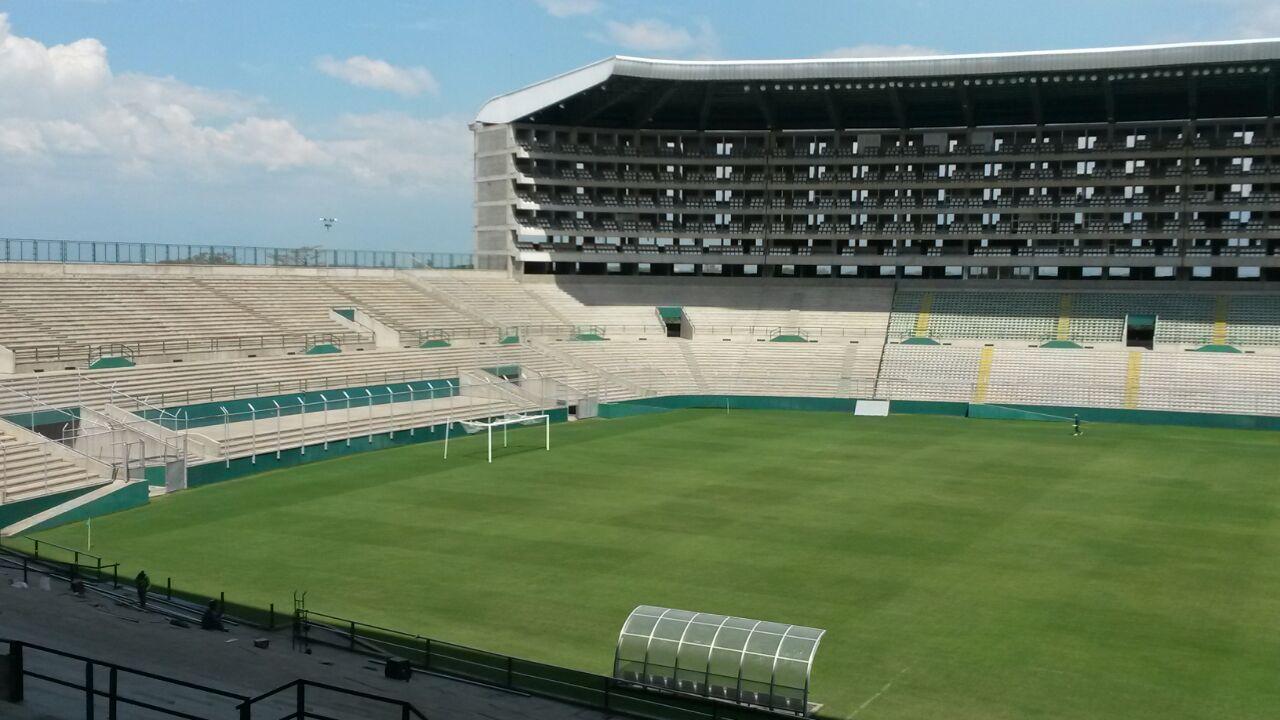 En imágenes: Palmaseca se alista para recibir al Deportivo Cali en el 2015