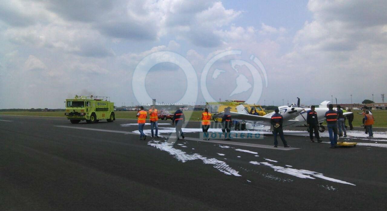 Una avioneta aterrizó de emergencia en el aeropuerto Alfonso Bonilla