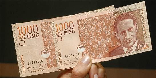 Los billetes de 1000 volverán a circular a partir del mes de abril