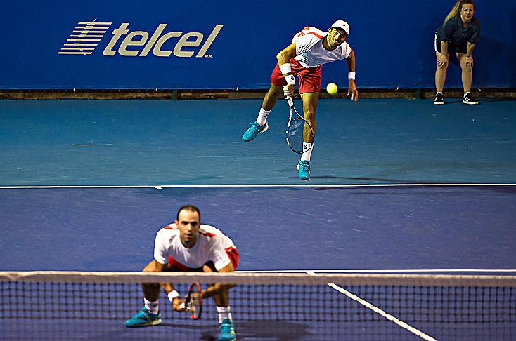Cabal y Farah obtuvieron un cupo en la semifinal de Acapulco