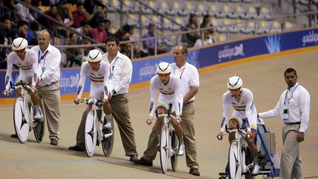 Colombia no tuvo un buen balance la jornada del Mundial de Ciclismo de Pista