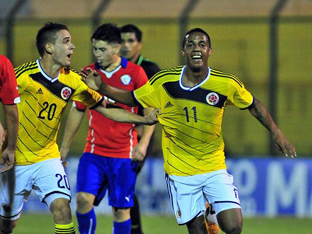Colombia comanda el grupo C del Mundial Sub 20 de Nueva Zelanda