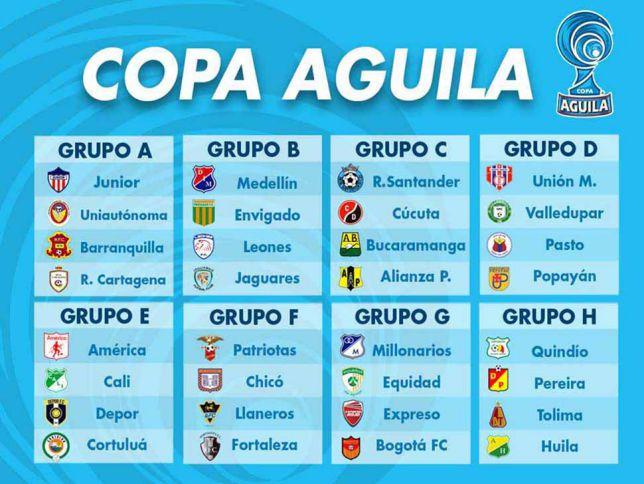 Todo listo para que ruede la pelota en la Copa Águila 2015