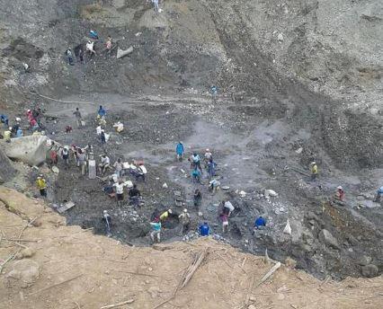 Una persona muerta y otra herida tras derrumbe de una mina
