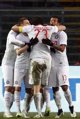 Doblete del colombiano Guarín en goleada del Inter al Atalanta