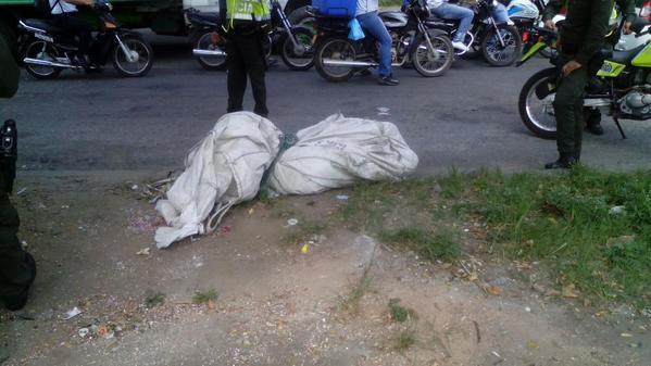 Aparece el cuerpo de una persona dentro de costales en el nororiente de Cali