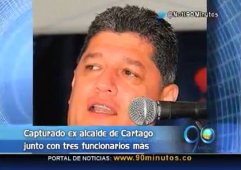 Exalcalde de Cartago aceptó cargos por corrupción en 2006 y 2007