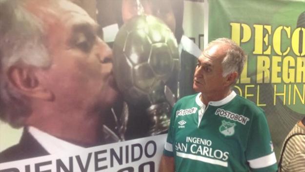 Fernando 'El Pecoso' Castro rindió́ descargos ante la Dimayor
