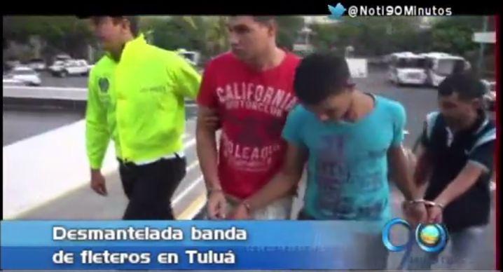 En Tuluá capturaron a fleteros que robaron millonaria suma con pistola de balines