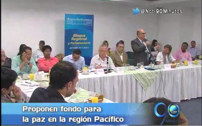 Gobernadores de la región Pacífico proponen Fondo para la Paz