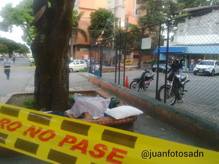 Habitante de la calle murió en plena vía pública de la ciudad de Cali