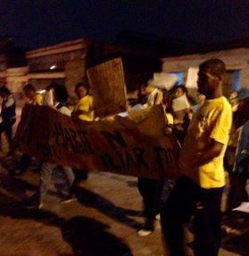 Habitantes de calle marcharon exigiendo respeto por sus vidas
