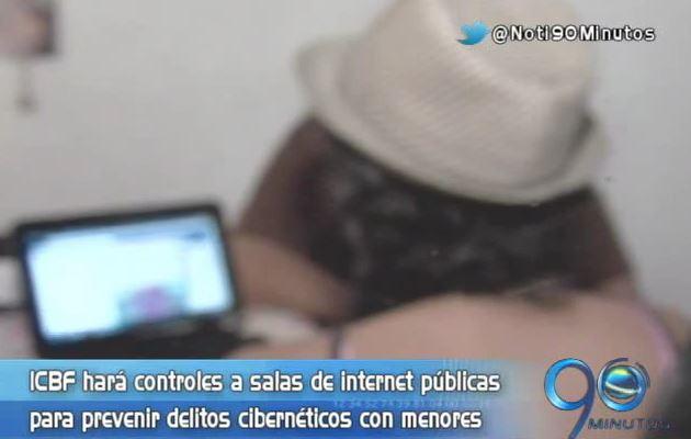 ICBF hará controles a salas de internet para prevenir delitos contra los menores