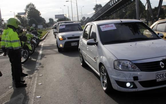 Diez vehículos Uber han sido inmovilizados en operativos