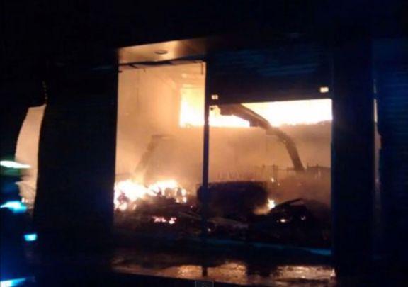 Voraz incendio consumió almacén en Santander de Quilichao