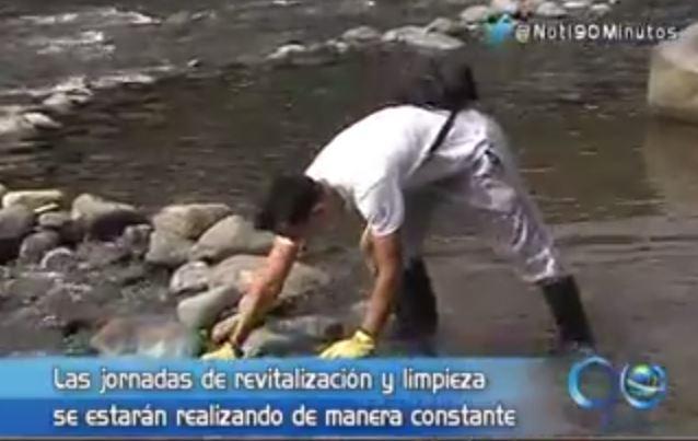 ONG realizó jornada de revitalización ambiental del río Pance